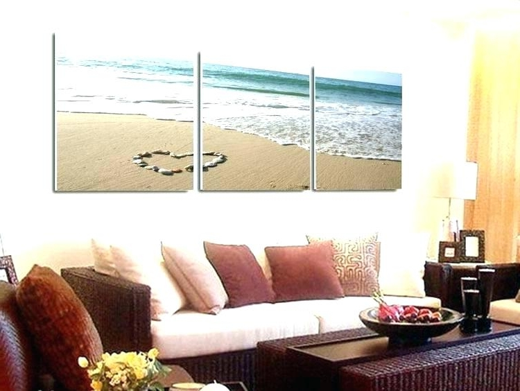 Beach Wall Art For Bedroom Beach Wall Art Canvas Romantic Prints For With Best And Newest 3 Piece Beach Wall Art (View 5 of 15)