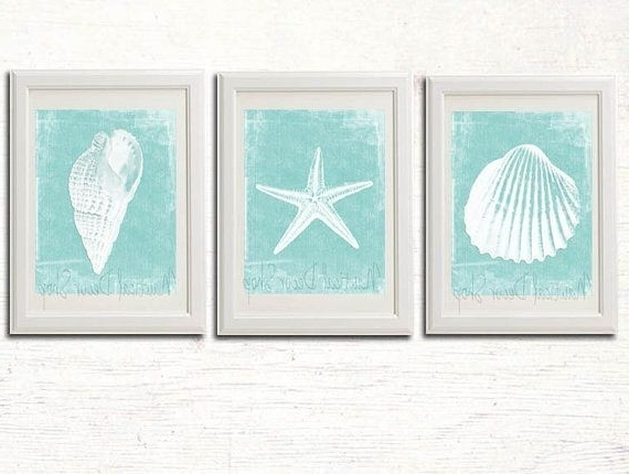 Beachy Wall Decor Best Of Sweet Looking Beach Themed Wall Decor With Regarding Latest Beach Theme Wall Art (View 7 of 15)