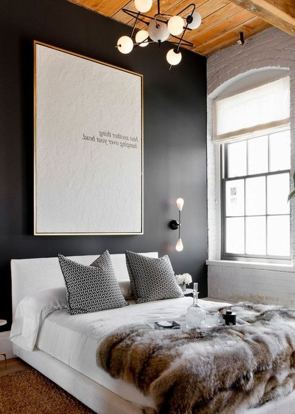 Bed Wall Art Pertaining To Widely Used How To: Modern Wall Art Above Bed Id  (View 3 of 15)
