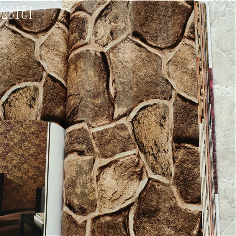 Beibehang Brick Photo Wallpaper 3D Wall Paper Luxury Vintage For Pertaining To Most Up To Date Vintage 3D Wall Art (View 8 of 15)