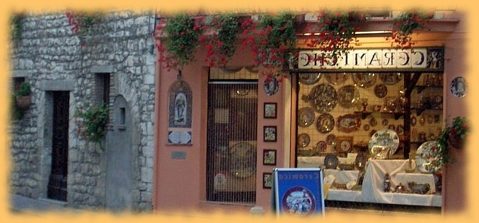 Bellasoleil Tuscan Decor And Italian Pottery In Most Popular Italian Ceramic Wall Art (View 1 of 15)