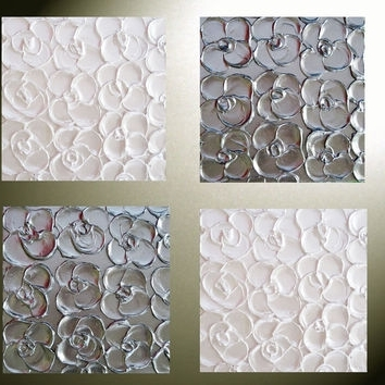 Best Abstract Metal Wall Art Products On Wanelo Regarding Popular Abstract Flower Metal Wall Art (View 7 of 15)