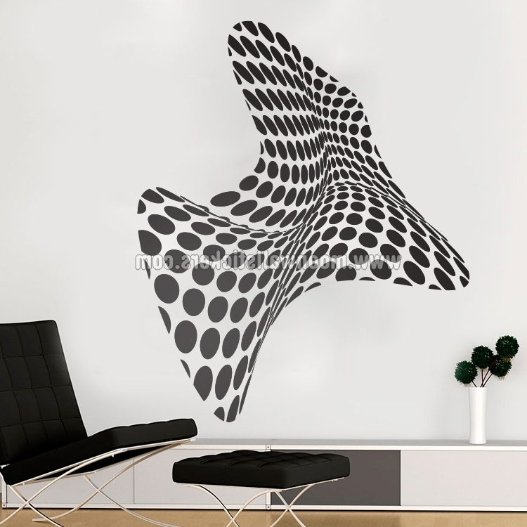 Best And Newest 3D Wall Art – Moonwallstickers Regarding 3D Wall Art For Bedrooms (View 8 of 15)