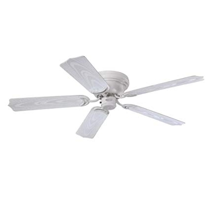 Best And Newest 48 Inch Outdoor Ceiling Fans Regarding Westinghouse 7217200 Contempra 48 Inch White Indoor/outdoor Ceiling (View 5 of 15)