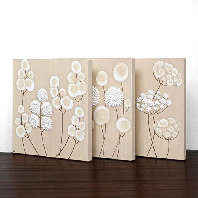 Best And Newest 7 Neutral Canvas Wall Art, Greige Neutral Extra Large Wall Art Regarding Neutral Wall Art (View 2 of 15)