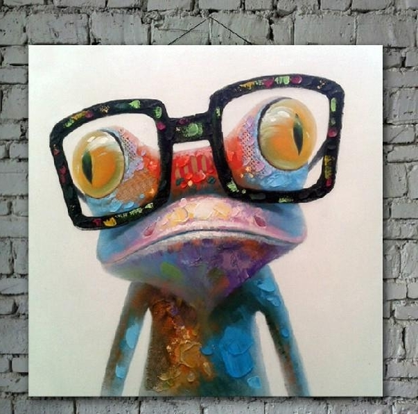 Best And Newest Abstract Animal Wall Art For 2018 Cartoon Oil Painting On Canvas Abstract Animal Wall Art For (View 10 of 15)