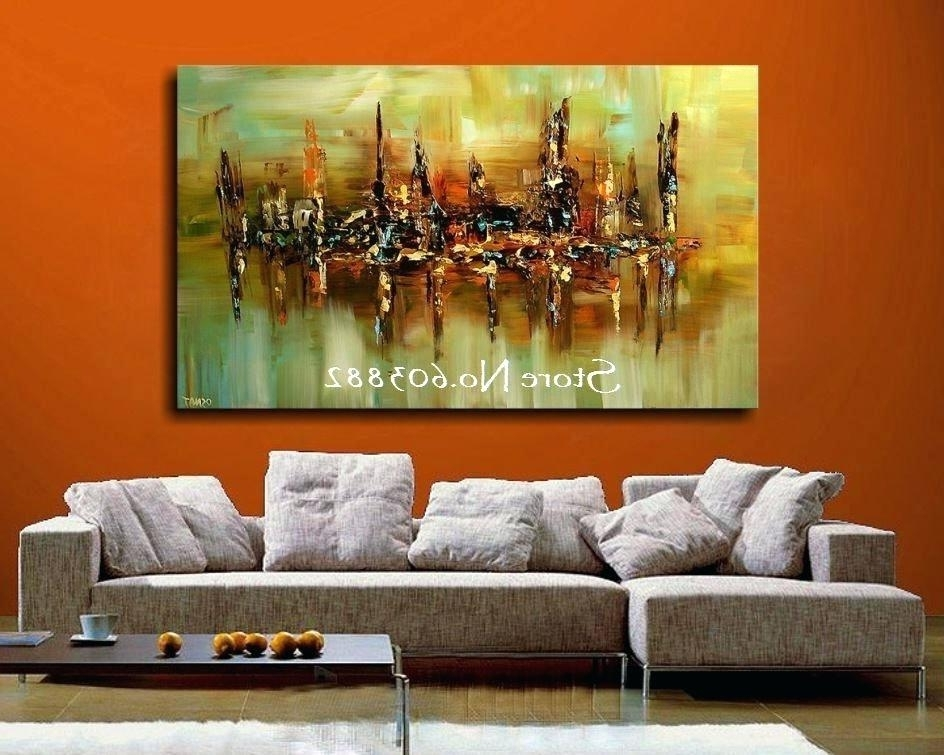 Best And Newest Abstract Wall Art Cheap Fashion Large Canvas Art Cheap Modern Throughout Inexpensive Abstract Wall Art (View 4 of 15)