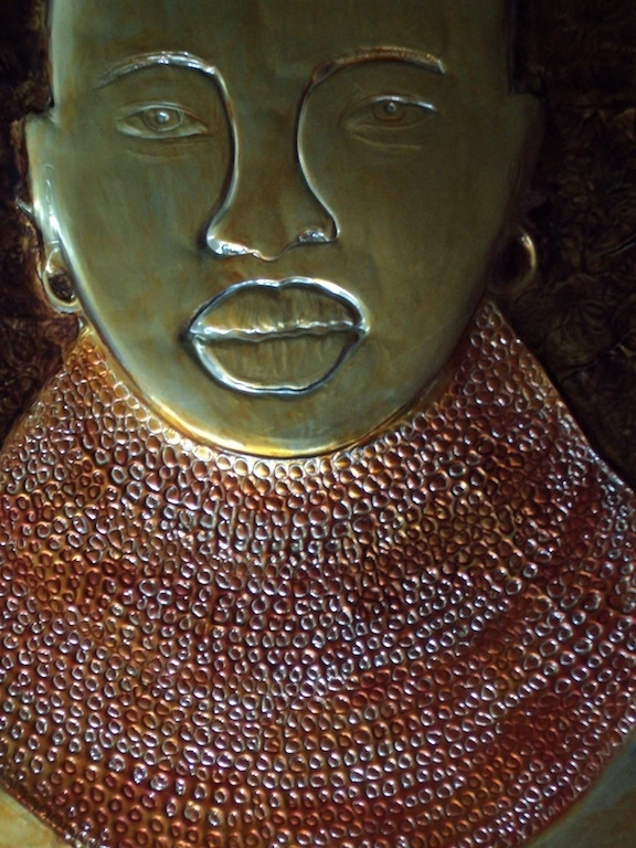 Best And Newest African Metal Wall Art With Regard To Artinjete: Metal Wall Art Decor: Paintings Of African Women Turkana (View 13 of 15)