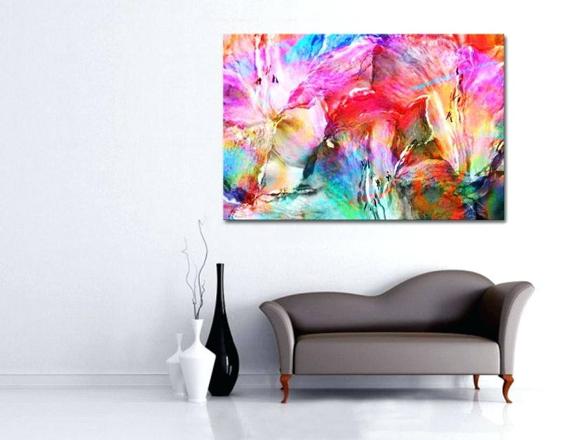 Best And Newest Big Abstract Wall Art Modern Abstract Contemporary Art Interior Inside Diy Modern Abstract Wall Art (View 2 of 15)