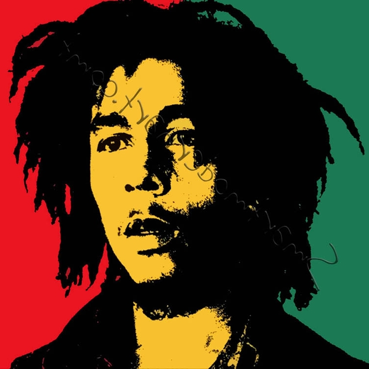 Best And Newest Bob Marley Canvas Wall Art For Bob Marley Wall Art (View 6 of 15)