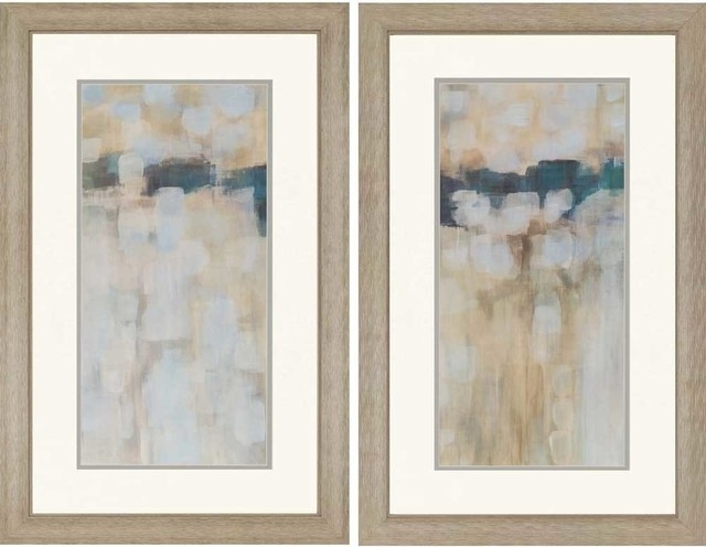 """Best And Newest Carbon Neutral Artwork, Set Of 2, 24""""x38"""" – Contemporary – Prints Inside Neutral Abstract Wall Art (View 2 of 15)"""