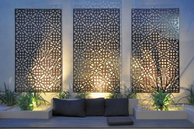 Best And Newest Contemporary Outdoor Wall Art With Regard To Wall Art Designs: Best Metal Hanging Contemporary Outdoor Wall Art (View 1 of 15)