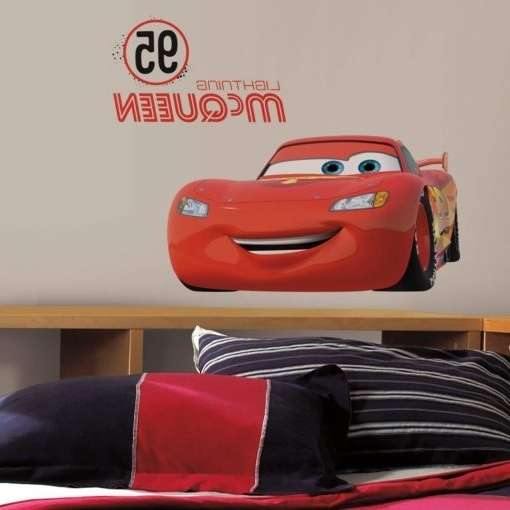 Best And Newest Disney Cars & Planes Wall Art Archives • Stickythings Wall Stickers For Lightning Mcqueen Wall Art (View 5 of 15)