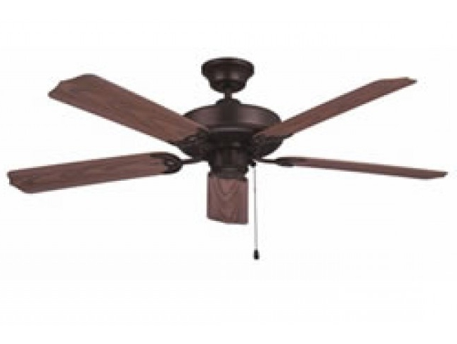 "Best And Newest Ellington All Weather 52"" Outdoor Ceiling Fan – Aged Bronze With Ellington Outdoor Ceiling Fans (View 2 of 15)"