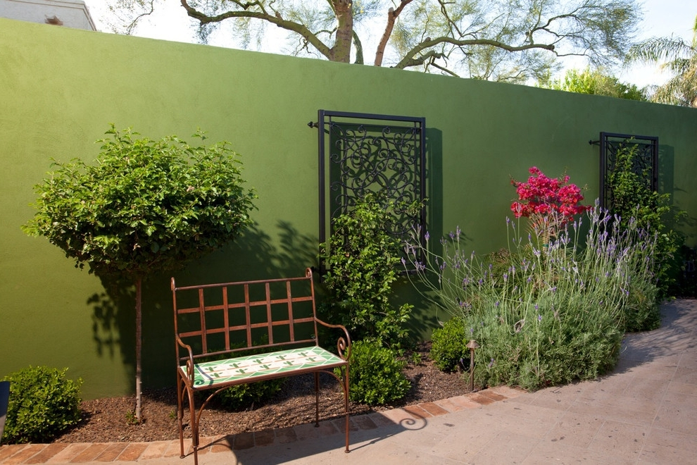 Best And Newest Fabulous Patio Wall Decor Ideas Art Outdoor Wall Art Ideas Outdoor For Diy Garden Wall Art (View 2 of 15)