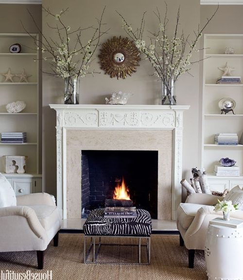 Best And Newest Fireplace Wall Art For Fireplace Decor Ideas Living Good Fireplace Wall Decoration Ideas (View 8 of 15)