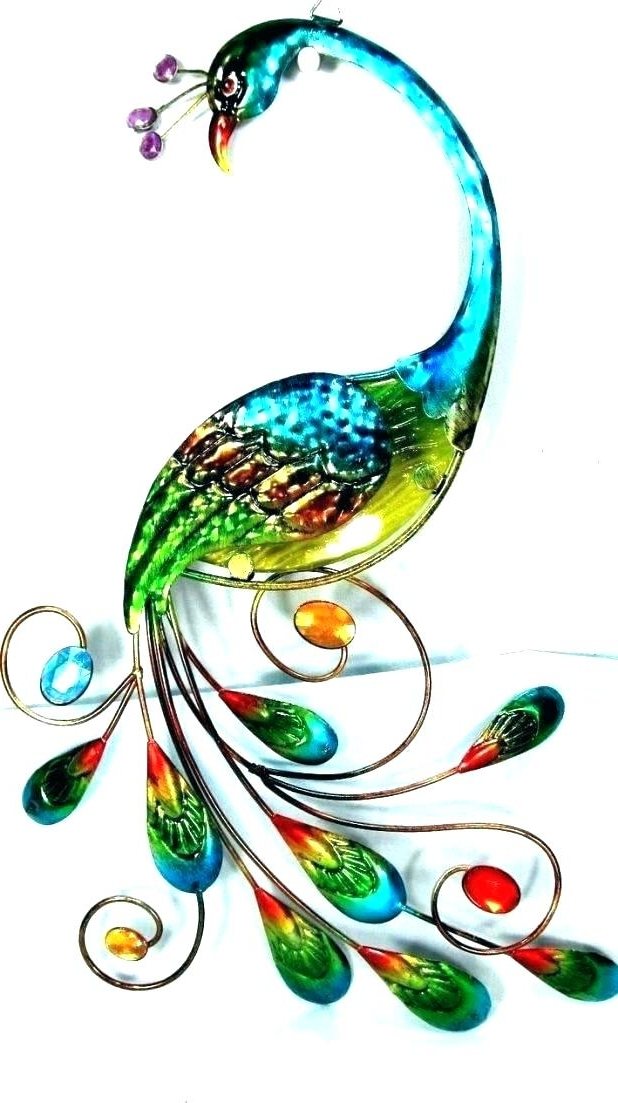 Best And Newest Jeweled Peacock Wall Art Throughout Jeweled Peacock Wall Art – Vaughanbrosart (View 5 of 15)