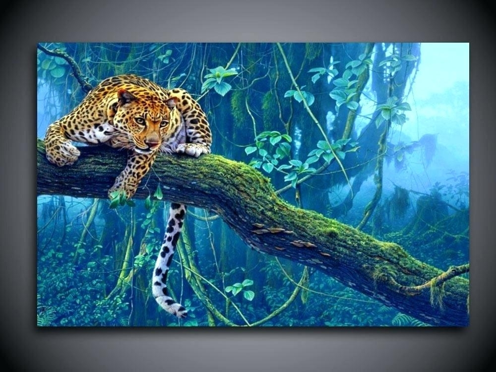 Best And Newest Jungle Canvas Wall Art Wall Art Decor Ideas For Living Room Throughout Jungle Canvas Wall Art (View 5 of 15)
