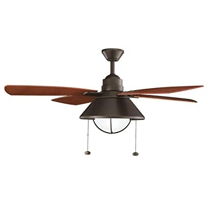 """Best And Newest Kichler 310131Oz 54"""" Ceiling Fan – Close To Ceiling Light Fixtures Within Kichler Outdoor Ceiling Fans With Lights (View 6 of 15)"""