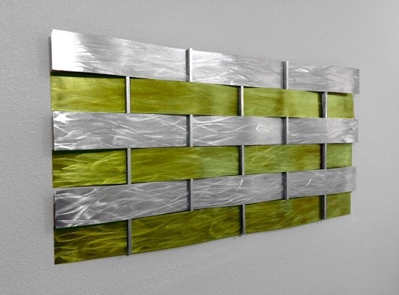 Best And Newest Lime Green Metal Wall Art For Green Metal Wall Beautiful Green Wall Art – Wall Decoration And Wall (View 2 of 15)
