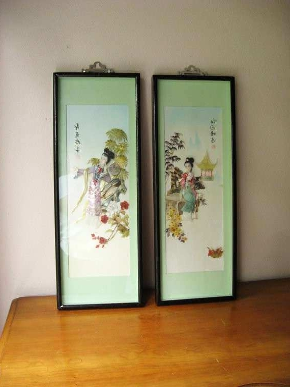 Best And Newest Mother Of Pearl Wall Art Regarding Mother Of Pearl Wall Art New Vintage Asian Mother Of Pearl Abalone (View 15 of 15)