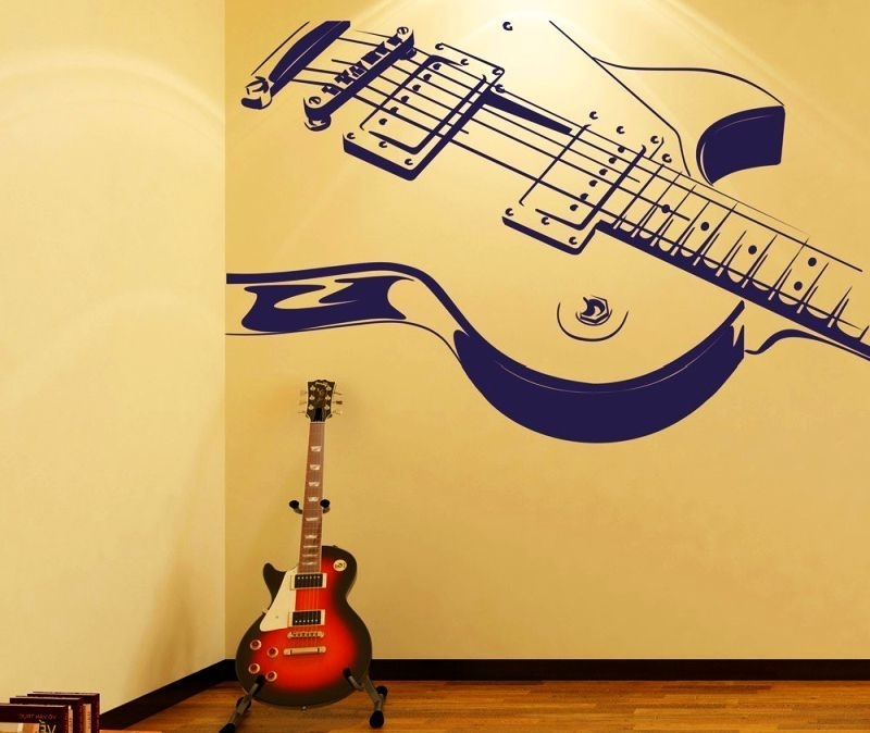 Best And Newest Music Themed Wall Art Inside 7 Must Try Music Themed Home Decor Ideas For Music Lovers, Themed (View 6 of 15)