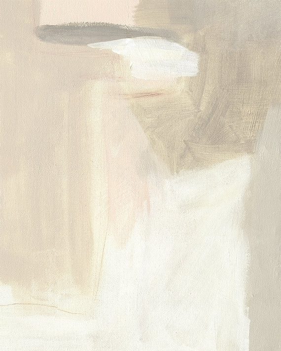 Best And Newest Neutral Abstract Art Canvas Art Abstract Painting Giclee Neutral Intended For Neutral Abstract Wall Art (View 3 of 15)