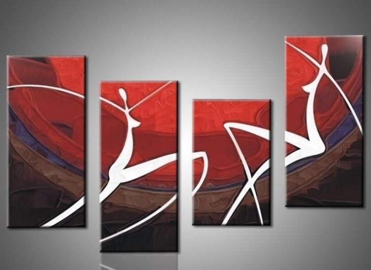 Best And Newest Oil Painting Wall Art On Canvas With Hand Painted Oil Painting Elegant Modern Canvas Art For Wall Decor (View 4 of 15)