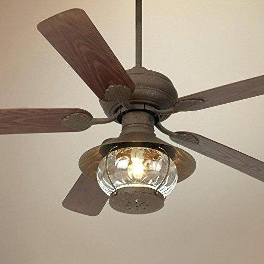 Best And Newest Outdoor Ceiling Fans Light Kits Outdoor Fan Light Rustic Indoor With Regard To Outdoor Ceiling Fans With Lantern (View 6 of 15)