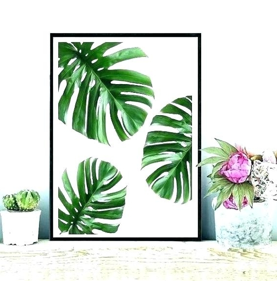 Best And Newest Palm Leaf Wall Art Regarding Palm Leaf Wall Art Leaf Wall Decor Tropical Metal Wall Decor Leaf (View 1 of 15)