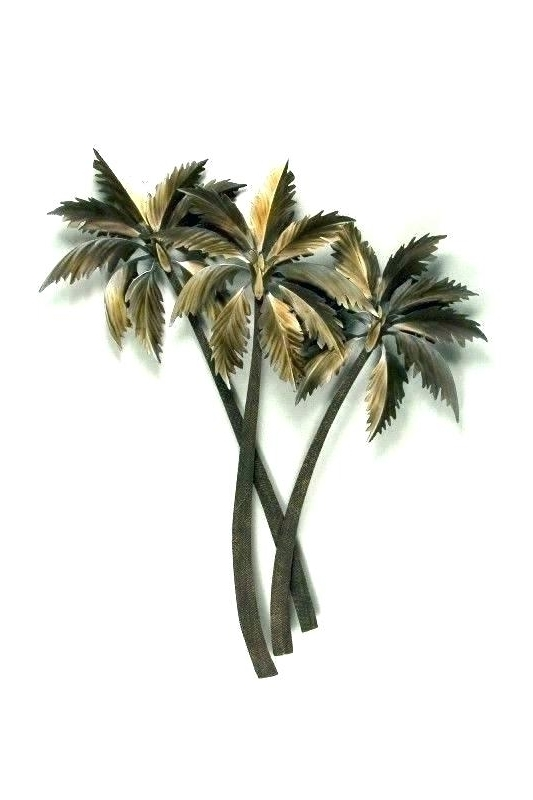Best And Newest Palm Tree Metal Art Inside Palm Tree Metal Wall Art Tree Wall Art Wall Decor Click To Enlarge (View 4 of 15)