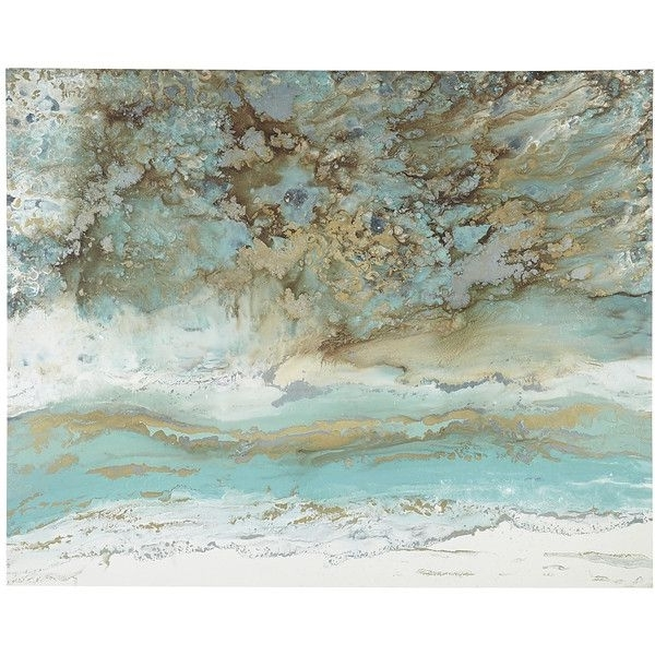 Best And Newest Pier 1 Imports Multi Colored Coastal Air Abstract Art ($199 Inside Pier One Abstract Wall Art (View 2 of 15)