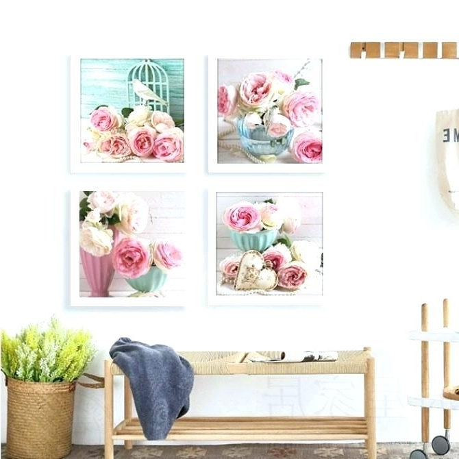 Best And Newest Shabby Chic Canvas Wall Art Pertaining To Country Canvas Wall Art Chic Wall Art Shabby Chic Wall Art Prints  (View 13 of 15)