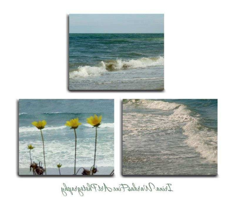 Best And Newest Wall Art Set Inspirational Coastal Beach Wall Art Set Of 3 Canvas With Regard To 3 Piece Beach Wall Art (View 15 of 15)