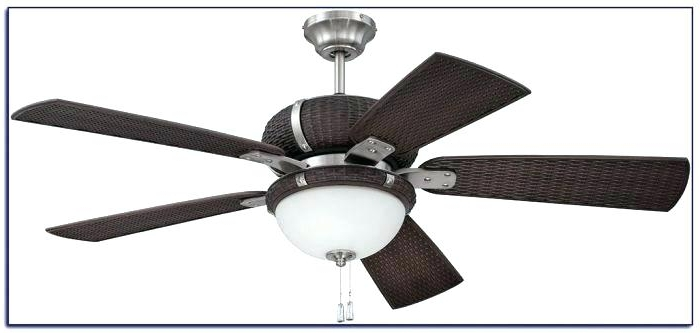Best and Newest Wicker Outdoor Ceiling Fans With Lights in Wicker Ceiling Fans White Rattan With Lights Me Throughout Outdoor