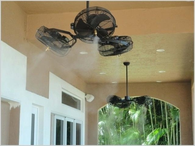 Best Cooling Ceiling Fan Best Outdoor Ceiling Fans With Lights A Buy With Latest Outdoor Ceiling Fans With Misters (View 1 of 15)