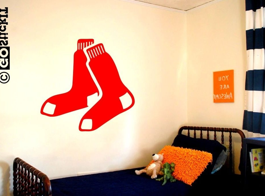 Bestvinylwallart Within Most Popular Red Sox Wall Art (View 5 of 15)