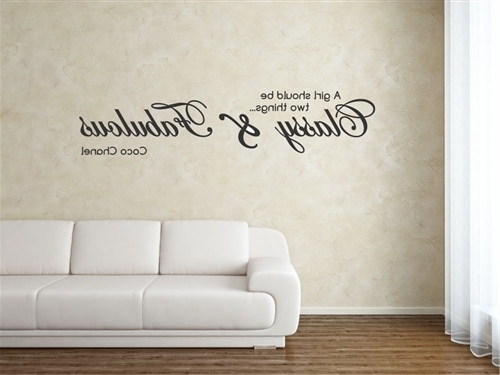 Bible Verse, Bible, Bible Quote, Wall Art, Wall Arts, Quote, Wall Within Well Liked Coco Chanel Wall Decals (View 4 of 15)