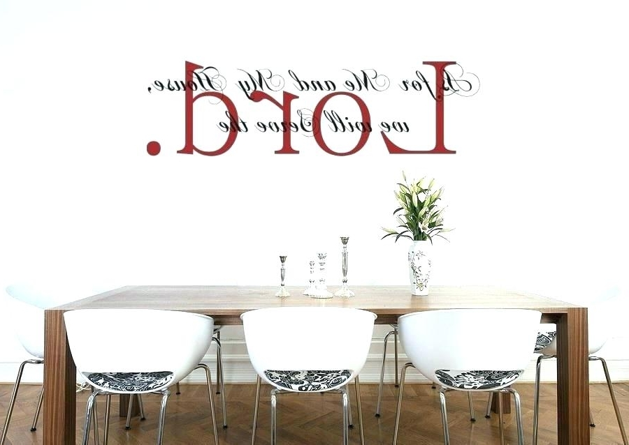 Bible Verses Wall Art On Vinyl Decal Sticker As For Verse Decals Within Well Known Bible Verses Wall Art (View 12 of 15)