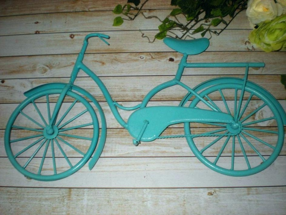 Bicycle Wall Art Decor Throughout 2018 Bicycle Wall Art Decor Metal Bicycle Wall Decor Accent (View 12 of 15)