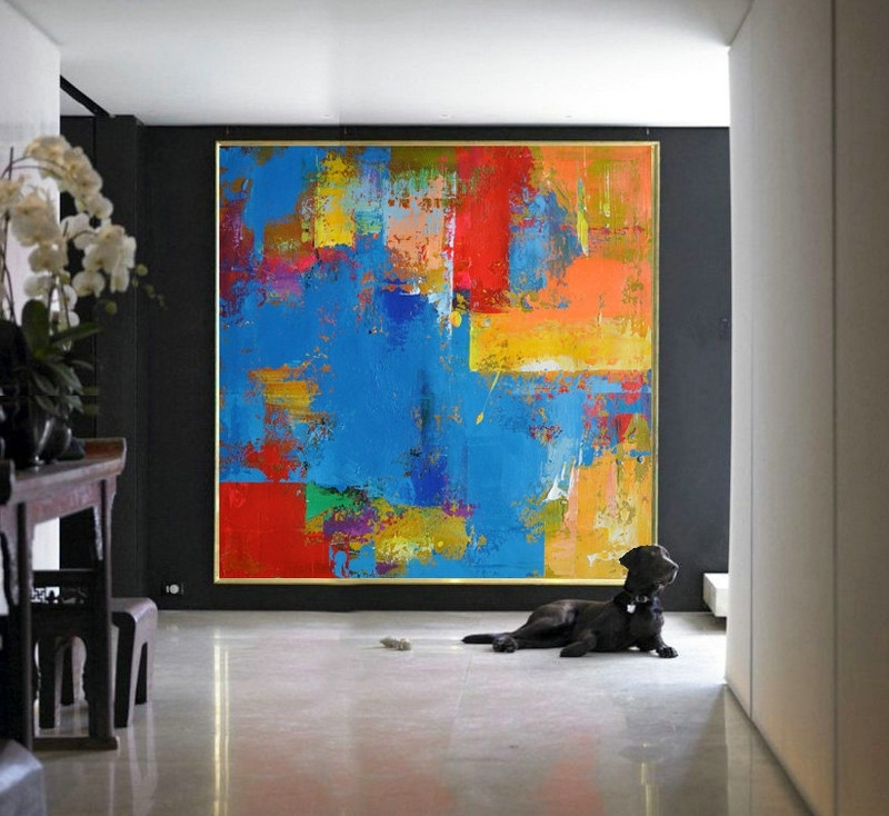 Big Abstract Wall Art In Favorite Pain Stunning Large Abstract Wall Art – Home Design And Wall (View 8 of 15)