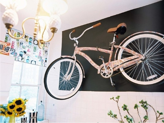 Bike Wall Art Intended For Most Current Bike As Wall Art – Cyclestyle Australia – Clothing & Accessories For (View 6 of 15)