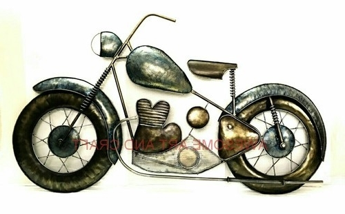 Bike Wall Art Intended For Most Popular Awesome Antique Bike Wall Decor, Rs 1 /piece, Awesome Art And Craft (View 15 of 15)