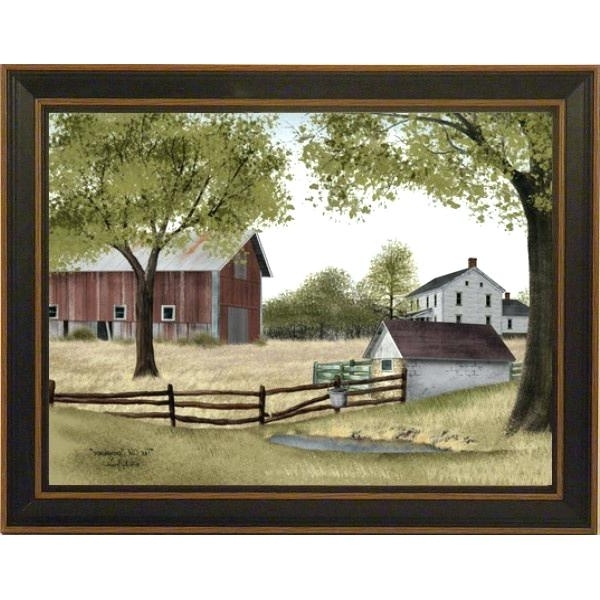 Billy Jacobs Framed Prints Peachy Primitive Wall Art In Conjunction Within Popular Billy Jacobs Framed Wall Art Prints (View 7 of 15)