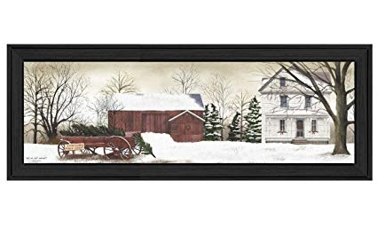 """Billy Jacobs Framed Wall Art Prints Pertaining To Well Known Amazon: """"christmas Trees For Sale""""billy Jacobs, Printed Wall (View 10 of 15)"""