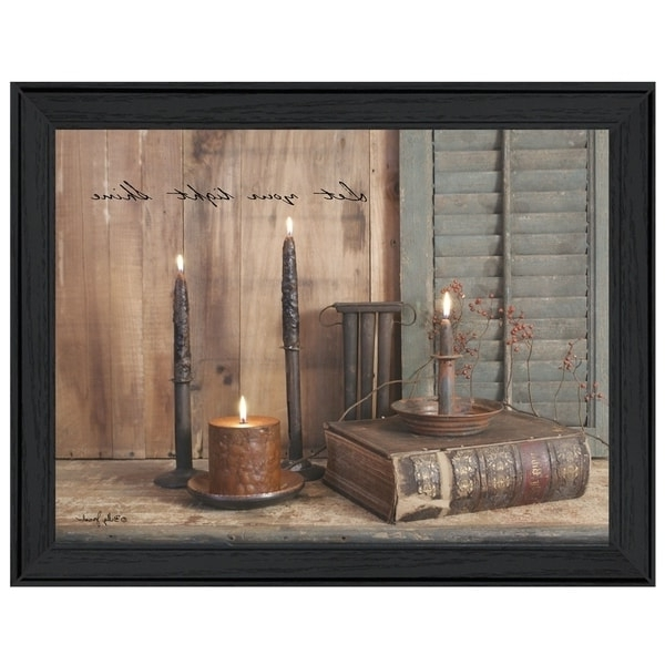 """Billy Jacobs Framed Wall Art Prints throughout Most Up-to-Date Shop """"let Your Light Shine""""billy Jacobs, Printed Wall Art, Ready"""