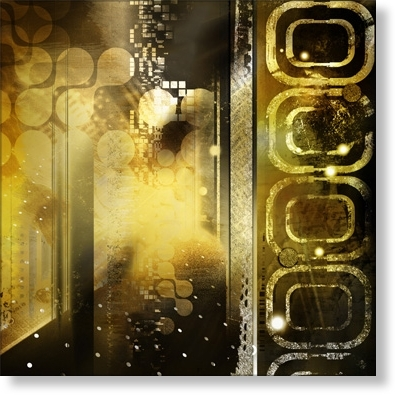 Black And Gold Abstract Wall Art Within Latest Abstract Canvas Prints – Contemporary Wall Art – Black And Goldi (View 15 of 15)