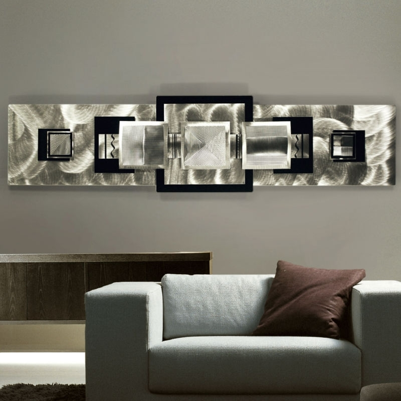 Black And Silver Wall Decor Ideas : Hot Home Decor – Beautiful Within Current Black Silver Wall Art (View 11 of 15)