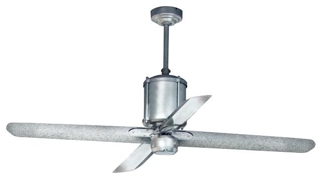 Black Industrial Ceiling Fan Sumptuous Design Ideas Industrial With Regard To Recent Industrial Outdoor Ceiling Fans (View 1 of 15)
