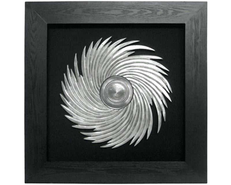 Black Silver Wall Art With Regard To Most Recent Wall Art Ideas Design Sample Great Silver Framed Flower Modern (View 6 of 15)